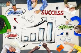 En route vers le succes
